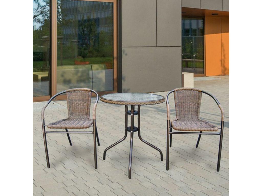 Комплект мебели для балкона.